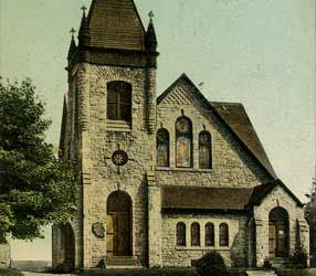 First Presbyterian Church in Ambler, Montgomery County, PA